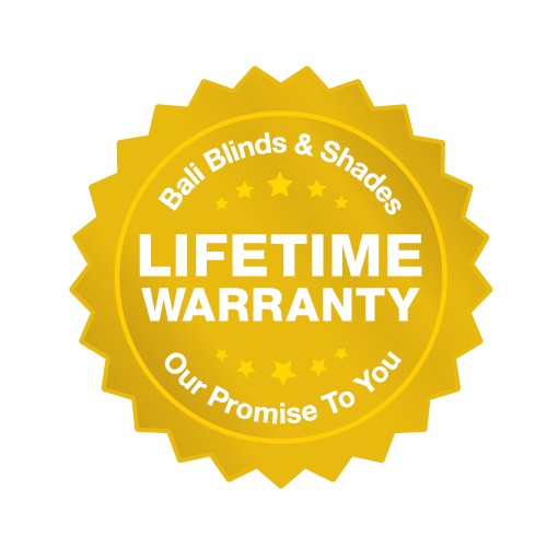 Bali Lifetime Warranty Seal