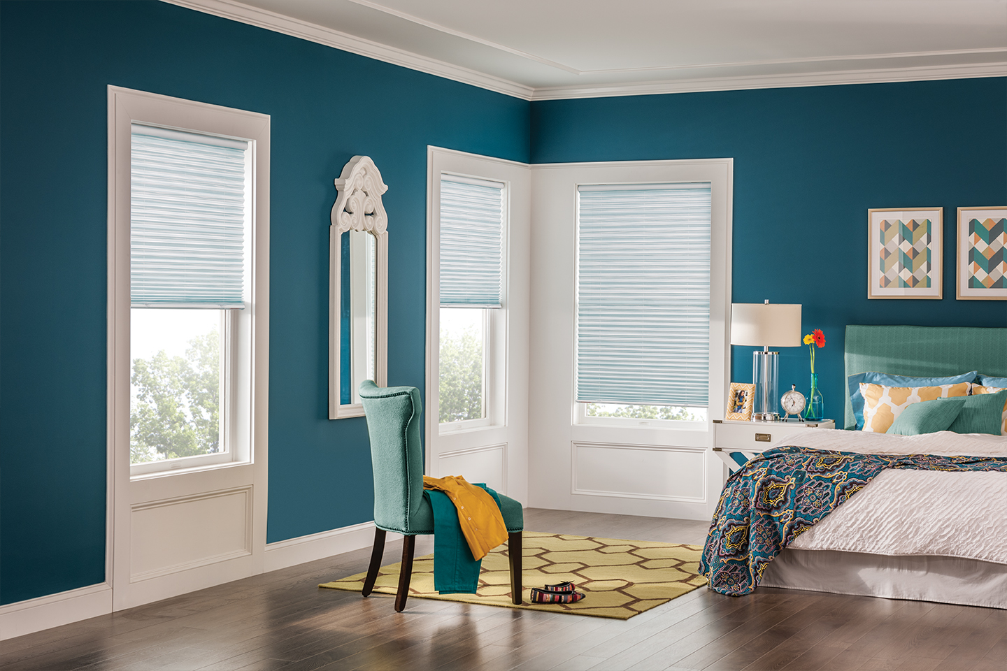 Custom Pleated Shades Bali Blinds And Shades