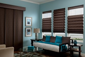 Looped Classic Roman Shades