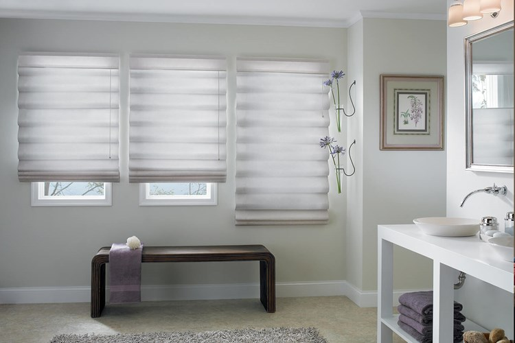 Custom Classic Roman Shades Bali Blinds And Shades