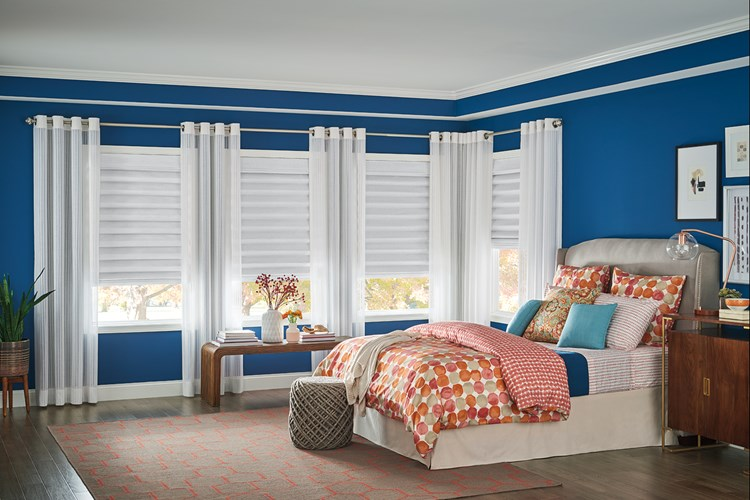 Bali Hic Clic Roman Shades In Looped Style With Cordless Lift Hoehne Ii Mushroom