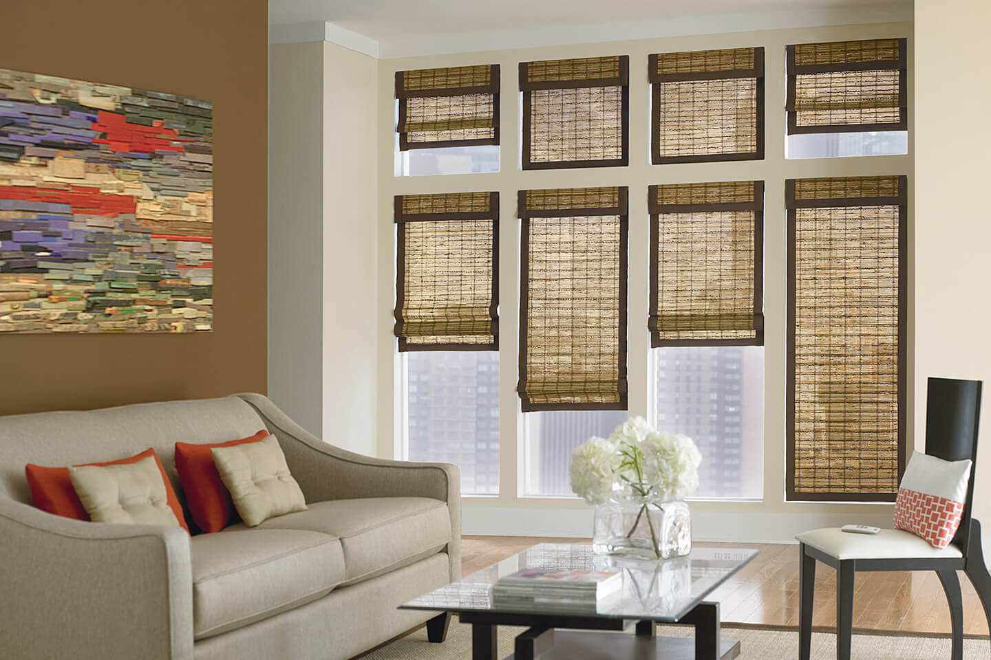 Custom natural shades bali blinds and shades for Bali blinds
