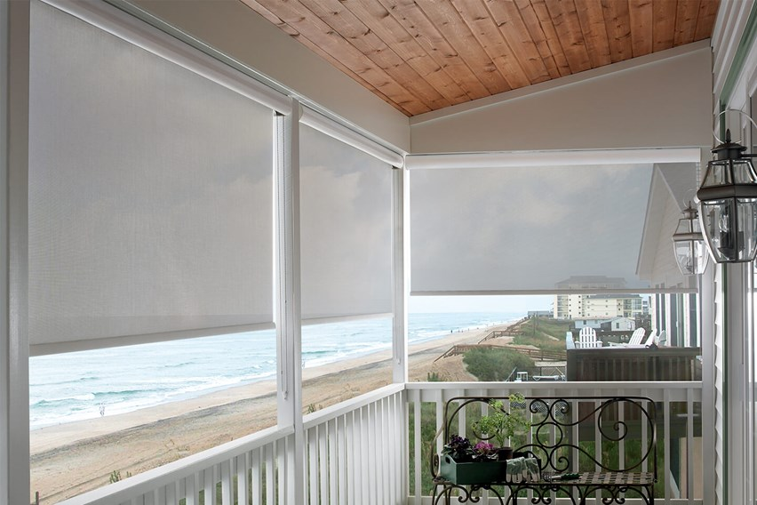 Blinds and shades inspirational photo and video gallery bali blinds and shades for Exterior solar shades