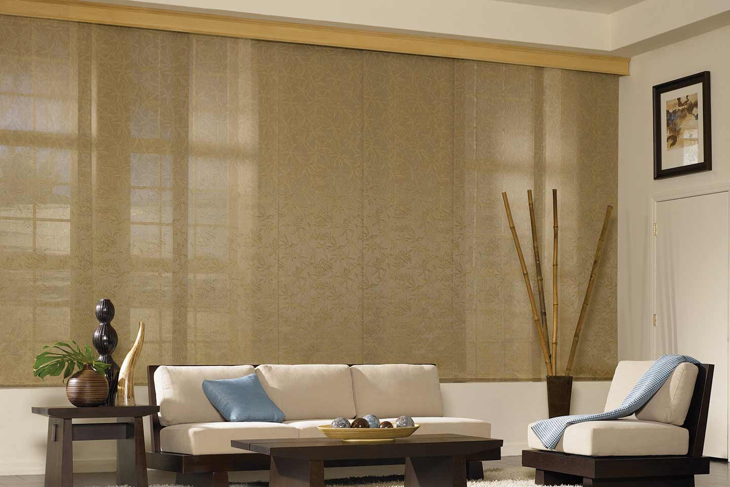 Custom Sliding Panels Bali Blinds And Shades